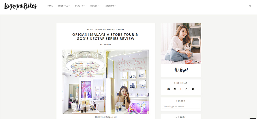 ORIGANI MALAYSIA STORE TOUR &  GOD'S NECTAR SERIES REVIEW