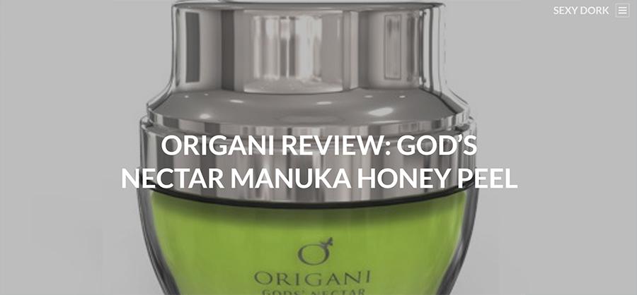 ORIGANI REVIEW: GOD'S NECTAR MANUKA HONEY PEEL